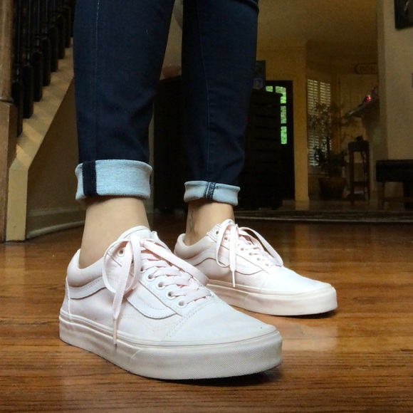 16ce816ae435d2 mono canvas peach blush old skool vans light pink.  M 5b4a8d69fe51514477ec2839